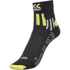 X-Bionic Effektor Running Socks Herren black/acid green
